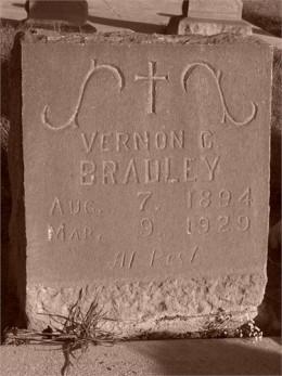 My grandfather's headstone