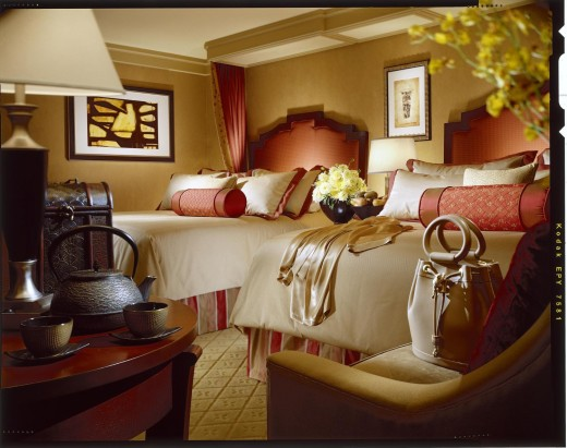 Picture is the Two Queen Bed Room