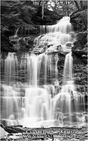 Ganoga Falls, Ricketts Glen State Park, Pennsylvania