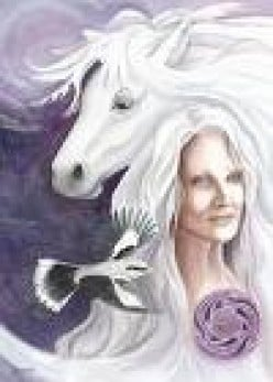 Rhiannon, the Welsh Horse Goddess