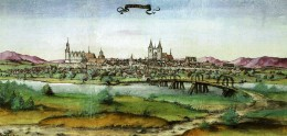 WITTENBERG GERMANY IN MARTIN LUTHER TIMES (1536)