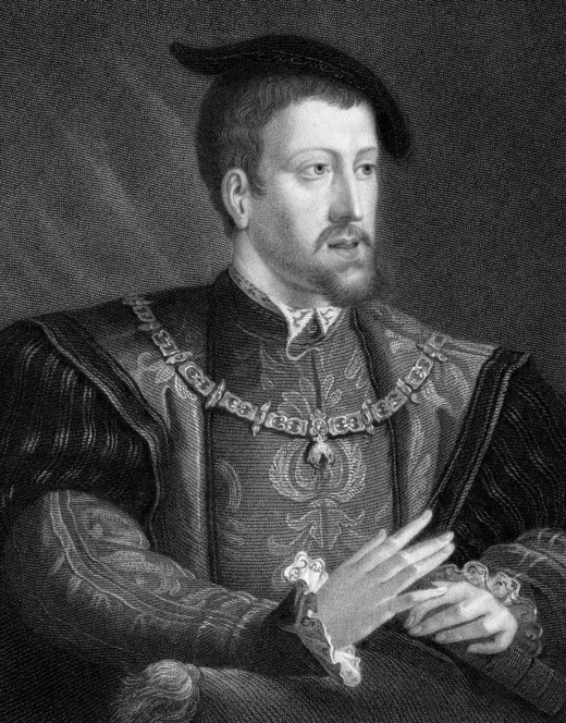 EMPEROR OF THE HOLY ROMAN EMPIRE CHARLES V