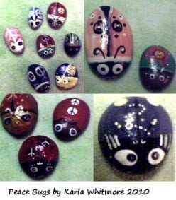 Decorative Painted Garden Rocks