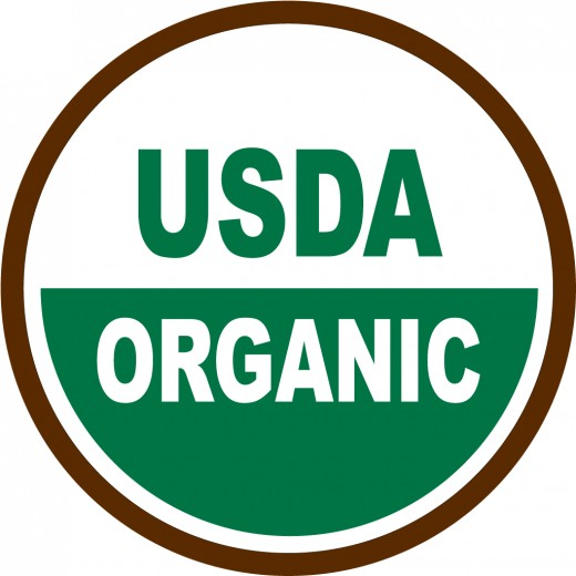 Look for this seal from the United States Department of Agriculture.