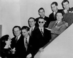 U.S. Junior Chamber of Commerce Ten Outstanding Young Men of 1947 (Richard Nixon, top right corner, second from right).