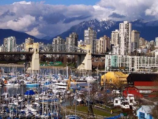 Granville Island in Vancouver, B.C.
