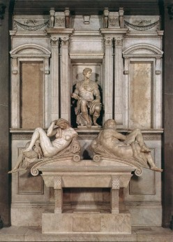 THE TOMB OF LORENZO de MEDICI