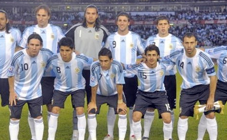 Argentina World Cup Football Team