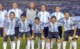 Argentina World Cup Football Team