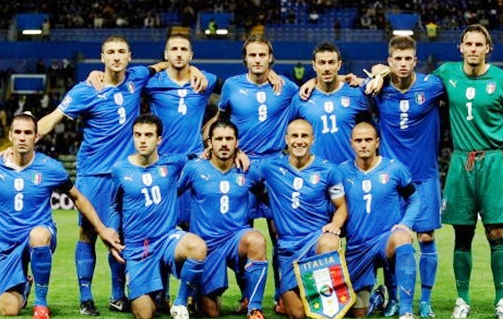 Italy World Cup Football Team