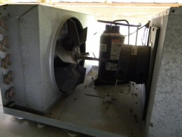 RV AC evaporator fan
