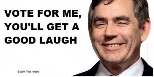 gordon brown laugh