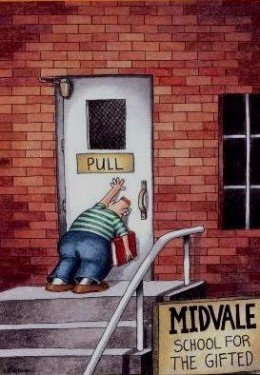 Classic Gary Larsen Cartoon