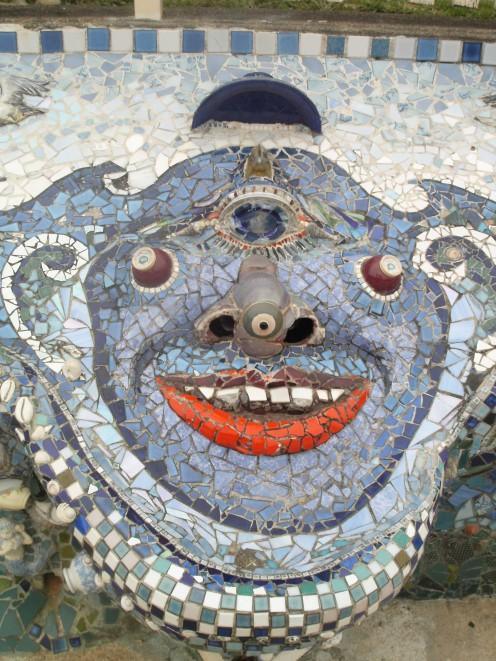 Mentalist Mosaic. Public Seating. Nambucca Heads, NSW.
