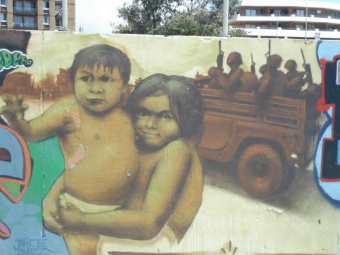 East Timor Liberation. Bondi Beach, Sydney.