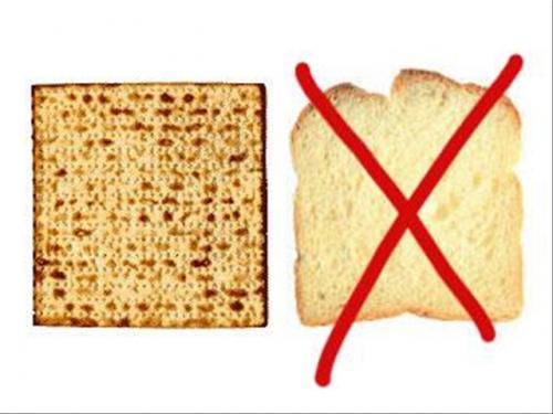 On Passover we eat Matzah