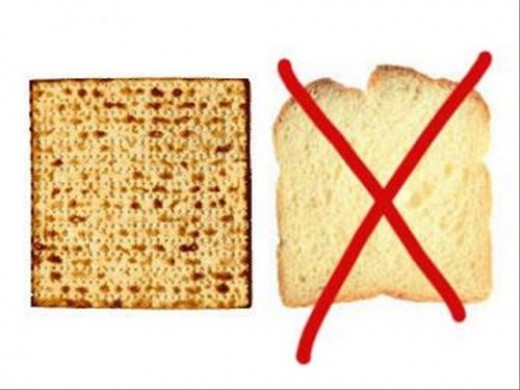 On Passover we eat Matzah
