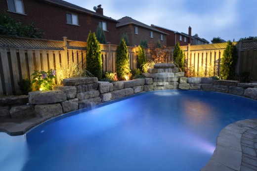Lighting Can Transform a Pool or Garden Area.