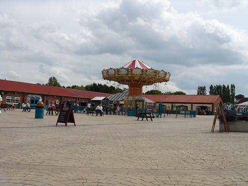 Flamingo Land Theme Park and zoo.