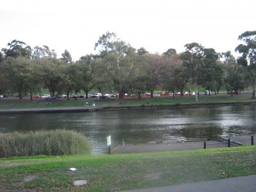 There are many barbecues along the Yarra river in Melbourne, starting close to the city centre.