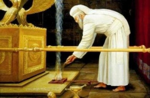The High Priest in the Holy of Holies