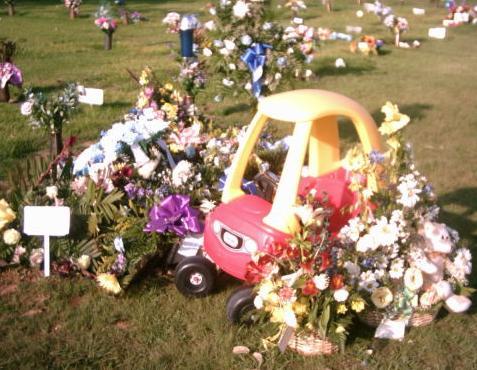 Jonathan's Grave-site Photo by Juanita Lowrance