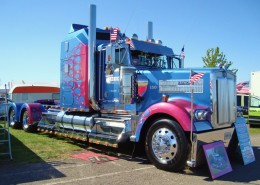 A cool modified Kenworth truck