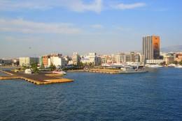 The port of Piraeus, Greece