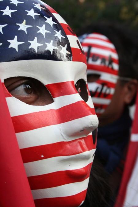 Philippine Anti-WTO Protester