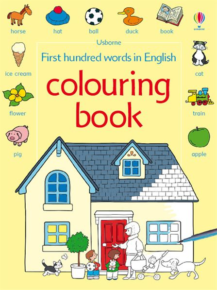 Buy coloring books online.    Image source - http://www.usborne.com