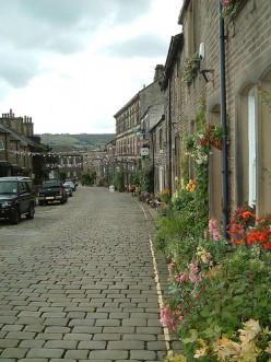 Haworth Village In Yorkshire - Bronte Country