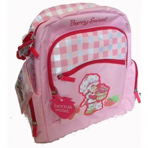 Strawberry Shortcake Backpack for Girls