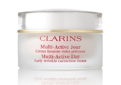 Clarins Early Wrinkle corrector. Dermatologist tested. Non-comedogenic, Anti-Pollution Complex