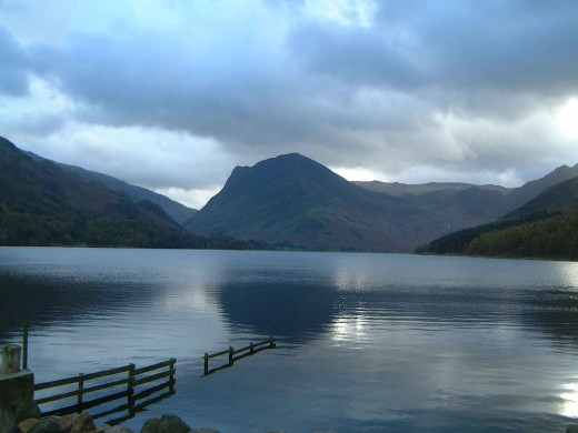 A view of Fleetwood Pike from Buttermere Lake. Photograph by courtesy of Mick Knapton