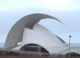 The Tenerife Auditorium in Santa Cruz