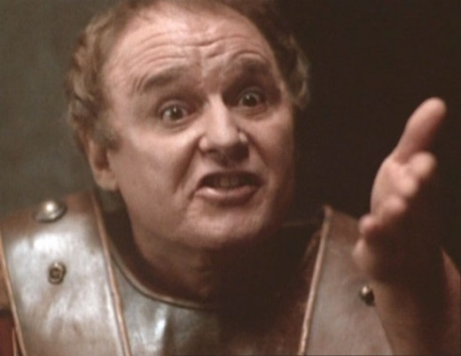 Rod Steiger as Pontius Pilate in Franco Zeffirelli's Jesus of Nazareth