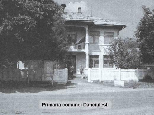 The mayor house of Danciulesti