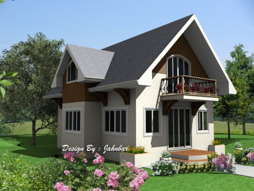 Simple modern homes and plans by jahnbar owlcation for Small house design worth 300 000 pesos