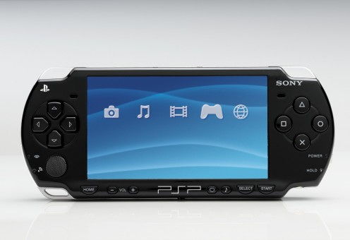Sony PSP, today's most popular portable game console.
