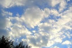 Cloud Gazing: It's what Kids do