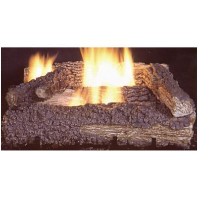Propane heater - gas logs.