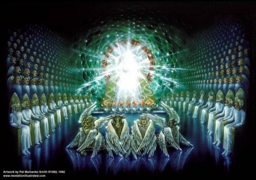 THE THRONE ROOM OF GOD