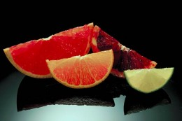 Citrus fruits contain high amounts of vitamin C, and also manganese.
