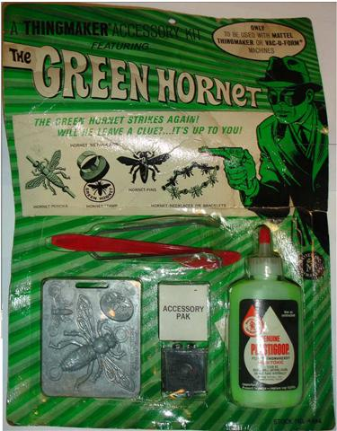 Green Hornet MOC (mint on card) highly collectible and rare!Courtesy www.dr-goop.com