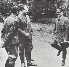 Hitler danced a joyous jig after the fall of France in 1940.