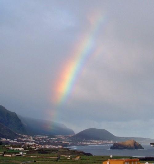Rainbow over Garachico