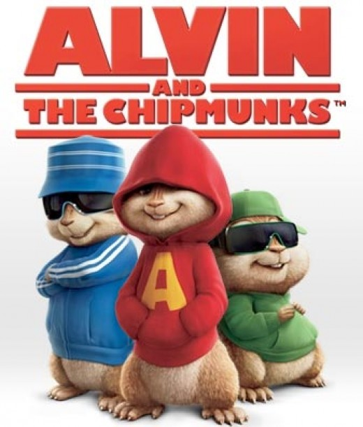Alvin and the chipmunks.