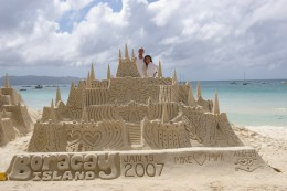 Sand castles that bound to astonish