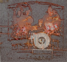 Carl Palmer of ELP from a show in '77.