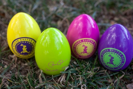 Official White House rolling eggs. [All images this page, public domain.]